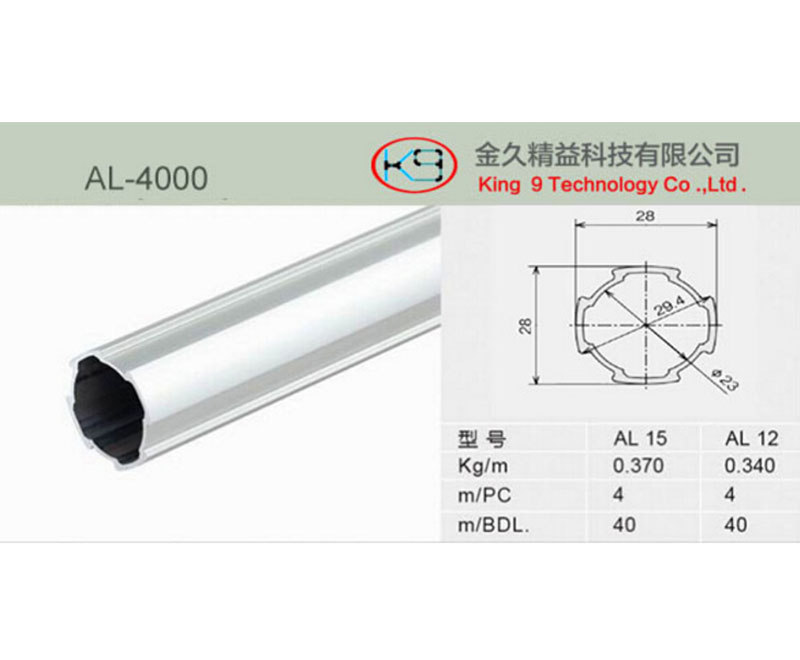 28 mm Aluminum Alloy Pipe for Lean Manufacture
